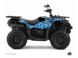 CF MOTO CFORCE 450 S ATV Predator Graphic Kit Blue