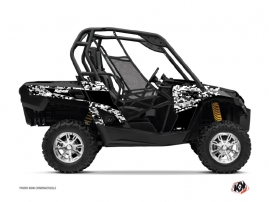 Can Am Commander UTV Predator Graphic Kit Black