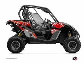 Can Am Maverick UTV Predator Graphic Kit Red