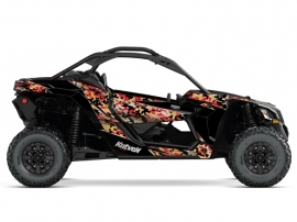 Kit Déco SSV Predator Can Am Maverick X3 Gold