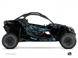Kit Déco SSV Predator Can Am Maverick X3 Noir Bleu