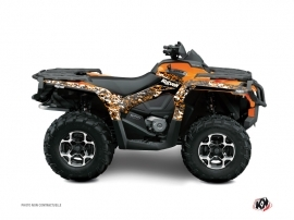 Kit Déco Quad Predator Can Am Outlander 1000 Orange