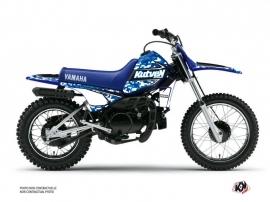 Yamaha PW 80 Dirt Bike Predator Graphic Kit Blue