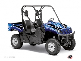 Yamaha Rhino UTV Predator Graphic Kit Blue