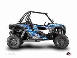 Polaris RZR 1000 Turbo UTV Predator Graphic Kit Blue