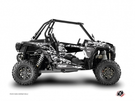Polaris RZR 1000 Turbo UTV Predator Graphic Kit Black