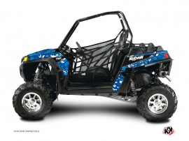 Polaris RZR 900 XP UTV Predator Graphic Kit Blue