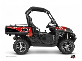 CF Moto U Force 800 UTV Predator Graphic Kit Red