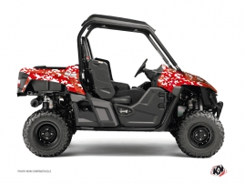 Yamaha Wolverine-R UTV Predator Graphic Kit Red