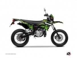 MBK Xlimit 50cc Predator Graphic Kit Black Green