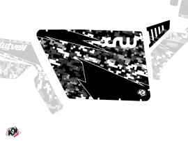 Kit Déco Portes Standard XRW Predator SSV Polaris RZR 570/800/900 2008-2014 Noir
