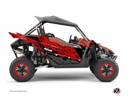 Yamaha YXZ 1000 R UTV Predator Graphic Kit Red Black
