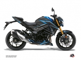 Suzuki GSX-S 750 Street Bike Profil Graphic Kit Black Blue