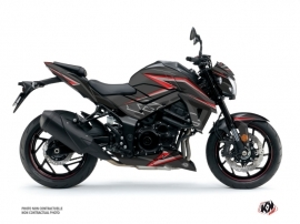 Suzuki GSX-S 750 Street Bike Profil Graphic Kit Black Red
