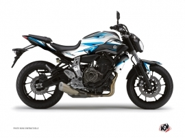 Yamaha MT 07 Street Bike Profil Graphic Kit Blue