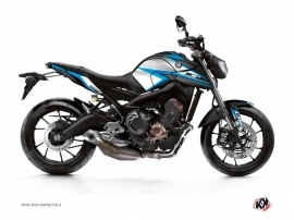 Yamaha MT 09 Street Bike Profil Graphic Kit Blue
