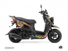 Yamaha BWS 50 - ZUMA 50F Scooter Psyke Graphic Kit Colors