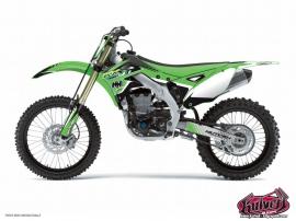 Kawasaki 250 KX Dirt Bike Pulsar Graphic Kit Black