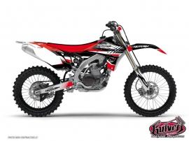 Yamaha 250 YZ Dirt Bike Pulsar Graphic Kit Red