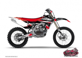 Kit Déco Moto Cross Pulsar Yamaha 125 YZ Rouge
