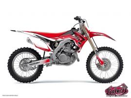 Honda 125 CR Dirt Bike Pulsar Graphic Kit Black