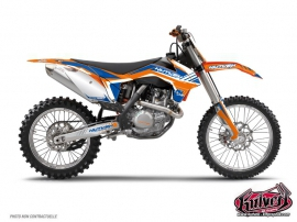 KTM EXC-EXCF Dirt Bike Pulsar Graphic Kit Blue