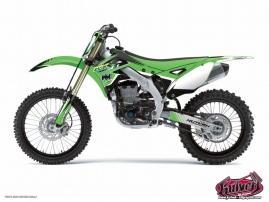 Kawasaki 65 KX Dirt Bike Pulsar Graphic Kit Black