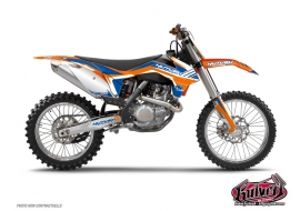 KTM 65 SX Dirt Bike Pulsar Graphic Kit Blue
