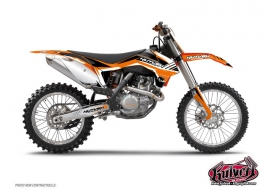 KTM 85 SX Dirt Bike Pulsar Graphic Kit Black