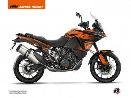 KTM 1090 Adventure Street Bike Raster Graphic Kit Black Orange