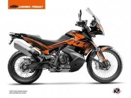 KTM 790 Adventure Street Bike Raster Graphic Kit Black Orange