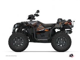 Kit Déco Quad Redrock Polaris 1000 Sportsman XP S Forest Noir Orange