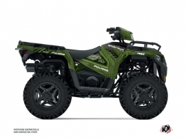 Polaris 570 Sportsman ATV Redrock Graphic Kit Green