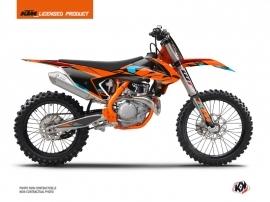 KTM 250 SXF Dirt Bike Reflex Graphic Kit Orange