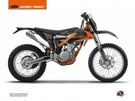 KTM 350 FREERIDE Dirt Bike Reflex Graphic Kit Black
