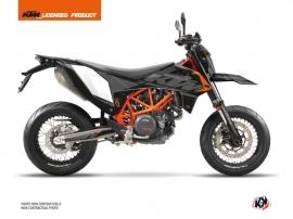 KTM 690 SMC R Street Bike Reflex Graphic Kit Black