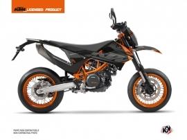 Kit Déco Moto Cross Reflex KTM 690 SMC R Noir