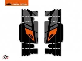Kit Deco Radiator guards Reflex KTM EXC-EXCF 2017 Black