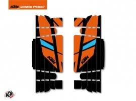 Kit Déco Grilles de radiateur Reflex KTM EXC-EXCF 2017 Orange