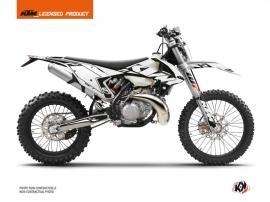 KTM EXC-EXCF Dirt Bike Reflex Graphic Kit White