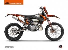 KTM EXC-EXCF Dirt Bike Reflex Graphic Kit Black