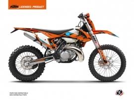 KTM EXC-EXCF Dirt Bike Reflex Graphic Kit Orange