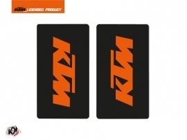 Graphic Kit Fork protection stickers Reflex Dirt Bike KTM SX-SXF EXC-EXCF Orange