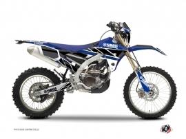 Yamaha 250 WRF Dirt Bike Replica Graphic Kit Blue