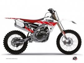 Yamaha 450 YZF Dirt Bike Replica Graphic Kit Red