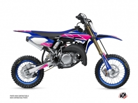 Kit Déco Moto Cross Replica Yamaha 65 YZ Rose