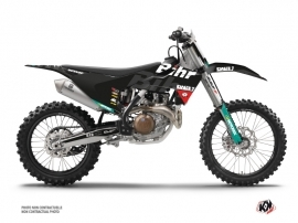 Husqvarna 450 FC Dirt Bike Replica Bihr Graphic Kit