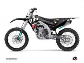 Kawasaki 450 KXF Dirt Bike Replica Bihr Graphic Kit