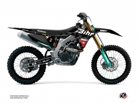 Suzuki 450 RMZ Dirt Bike Replica Bihr Graphic Kit