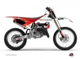 Yamaha 125 YZ Dirt Bike Replica BOS Graphic Kit
